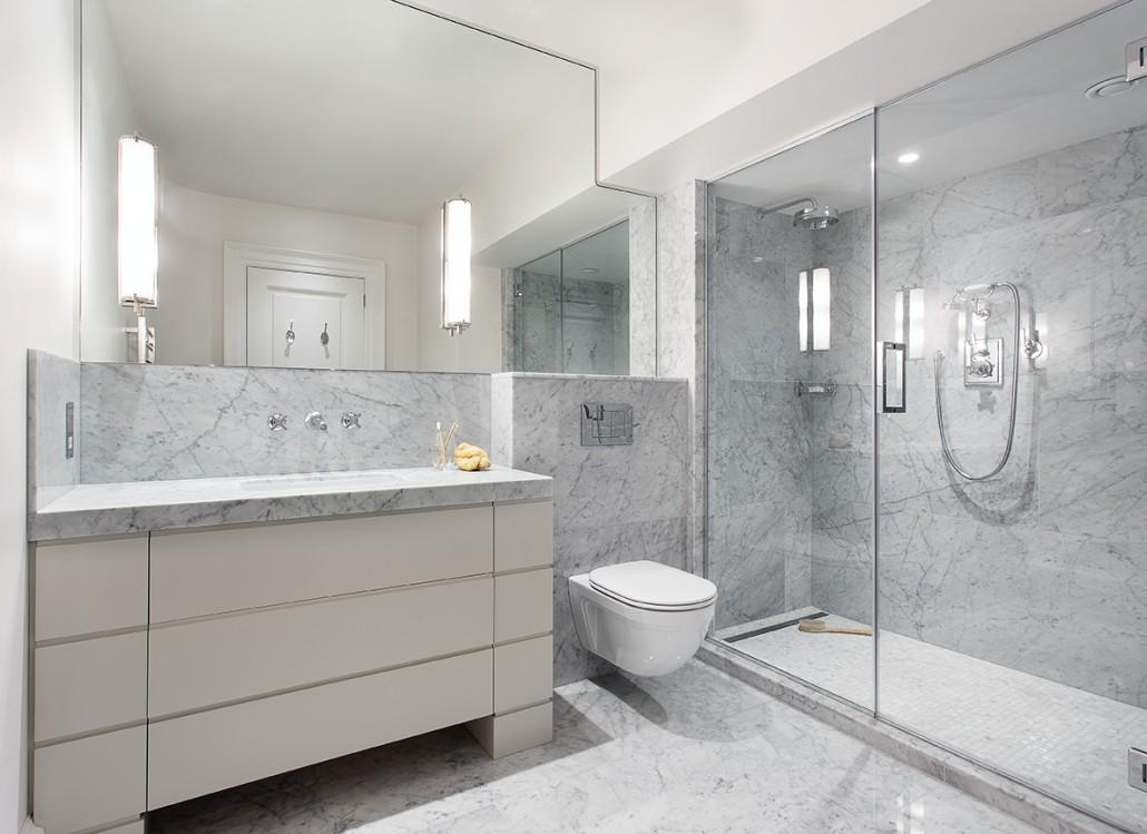Granite bathroom surfaces